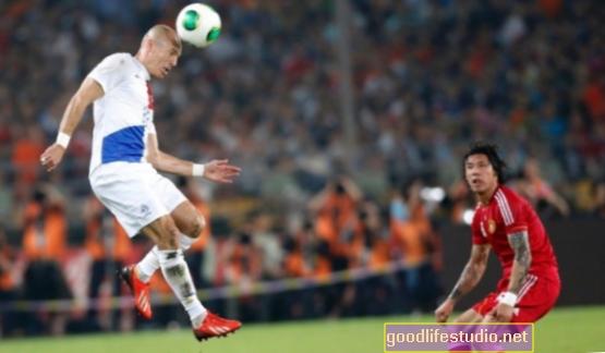 Antraštė Futbolo kamuolys gali sukelti pusiausvyros problemas