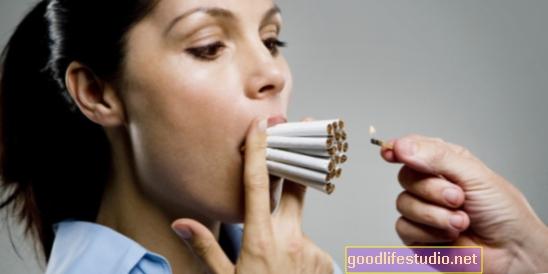 Gausus rūkymas, gėrimas susijęs su ankstyvu senėjimu
