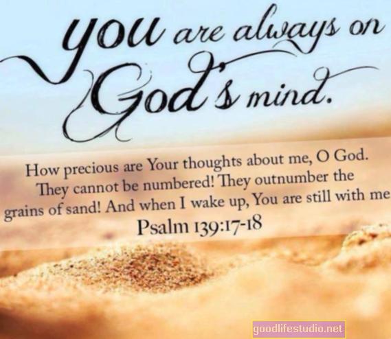Як ви думаєте про Бога, впливає вплив молитви на психічне здоров'я