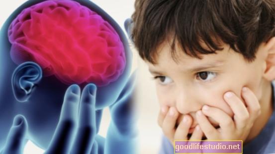 Kojenecká komunikace spojená s výsledky autismu