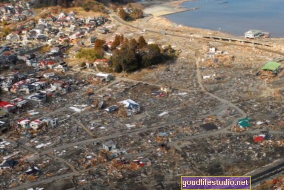 Психологическата такса за японската катастрофа може да отнеме време