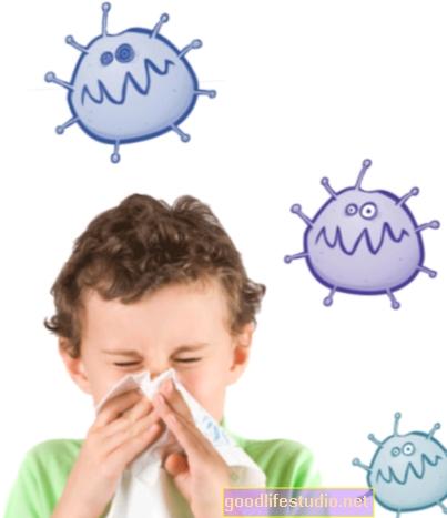 ليس من المرجح أن تؤثر العدوى الشائعة لدى الأطفال على الدماغ أو التعلم
