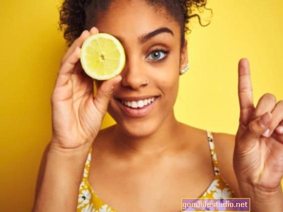 Citronová vůně může posílit obraz těla