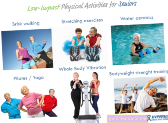 La baja actividad física se relaciona con un mayor riesgo de muerte prematura entre los adultos mayores