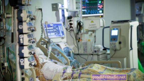 Много оцелели от интензивното отделение показват депресия във физически признаци