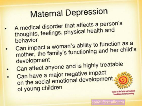 اكتئاب الأمهات يغير من تطور اللغة عند الأطفال