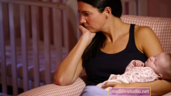 La depresión materna es más probable a los 4 años que al primer año