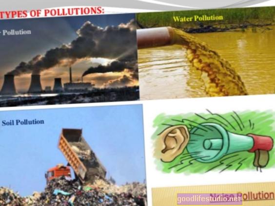 Gaisa piesārņojuma un stresa, kas saistīts ar kognitīvām problēmām bērniem, sajaukums