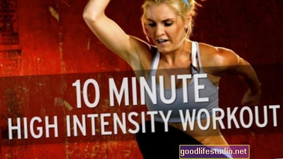 La música mejora el ejercicio de alta intensidad