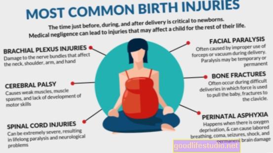 La lesión de nacimiento relacionada con los nervios se relaciona con un mayor riesgo de mala salud mental en los adolescentes