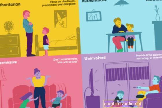 Der Erziehungsstil lehrt Kinder, auf Stärken zurückzugreifen, um mit Stress umzugehen