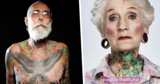 Orang yang mempunyai tatu lebih cenderung juga mempunyai masalah kesihatan mental