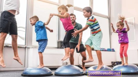 الأطفال الذين يتمتعون باللياقة البدنية لديهم حصين أكبر