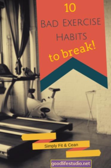 Thói quen tập thể dục kém có liên quan đến lạm dụng rượu
