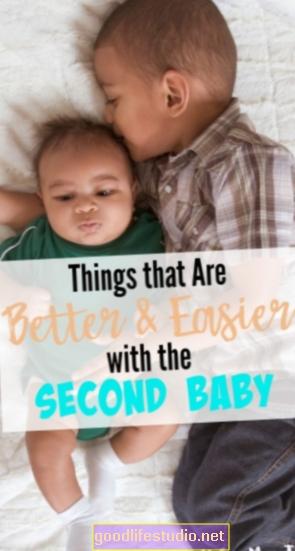 El segundo hijo puede ser más fácil de manejar para las parejas