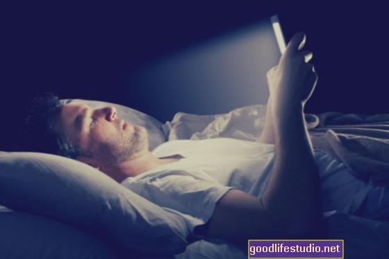 Svítí problémy se spánkem