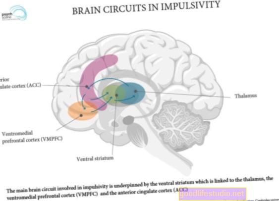 Circuiti cerebrali simili associati a disturbi dell'umore e d'ansia