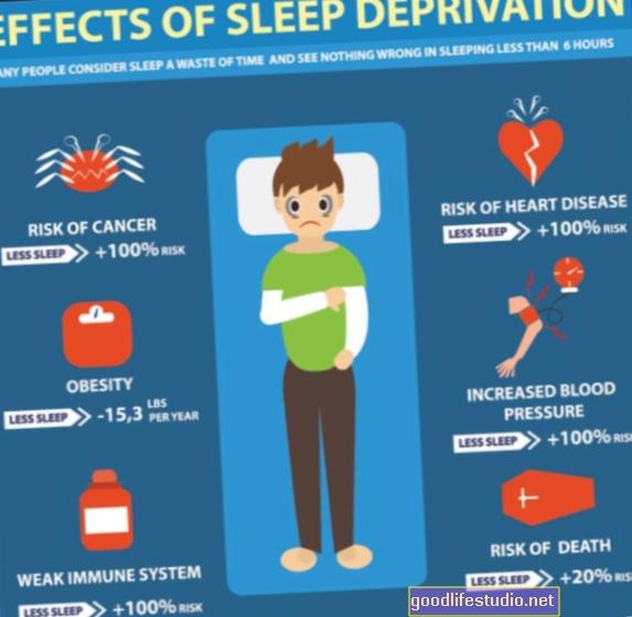 La privación del sueño puede reducir el riesgo de TEPT
