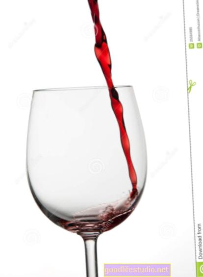 Piccole quantità di vino potrebbero aiutare a scongiurare la depressione