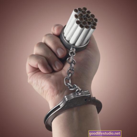 Ovisnost o pušenju može biti teško ožičena