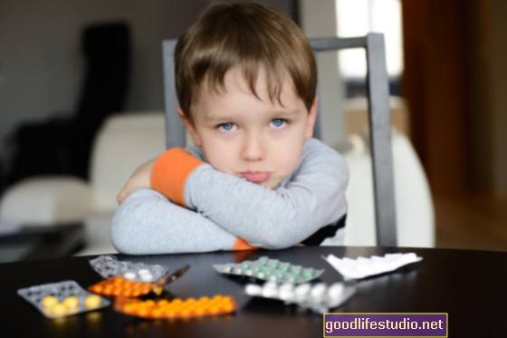 Algunos niños en edad preescolar toman psicotrópicos a pesar de la falta de evidencia