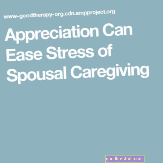 Lo stress della cura del coniuge può essere alleviato dall'apprezzamento