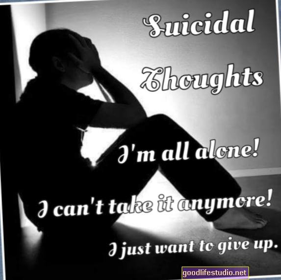 アスペルガー症候群の成人で自殺念慮が10倍可能性が高い