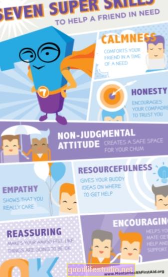 Mācot bērniem garīgās veselības prasmes, var mazināt trauksmi, domas par pašnāvību