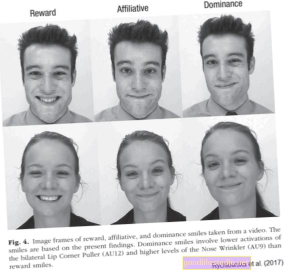 Tres tipos de sonrisas que usamos con fines sociales