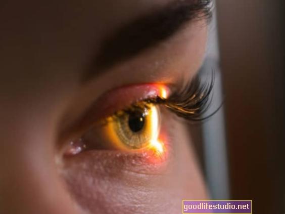 Трауматична искуства се могу видети у очима