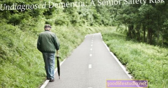 Nenustatyta demencija = saugos problemos