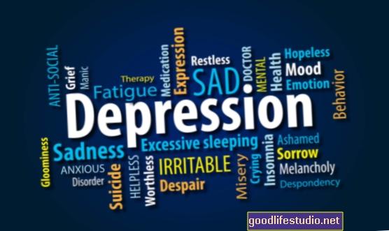 Negydoma depresija, susijusi su mažesne pūslelinės vakcinos veiksmingumu