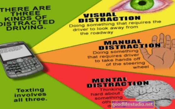 Las distracciones visuales pueden obstaculizar la memoria de trabajo