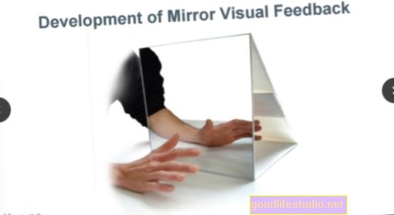 Il feedback visivo riduce il dolore