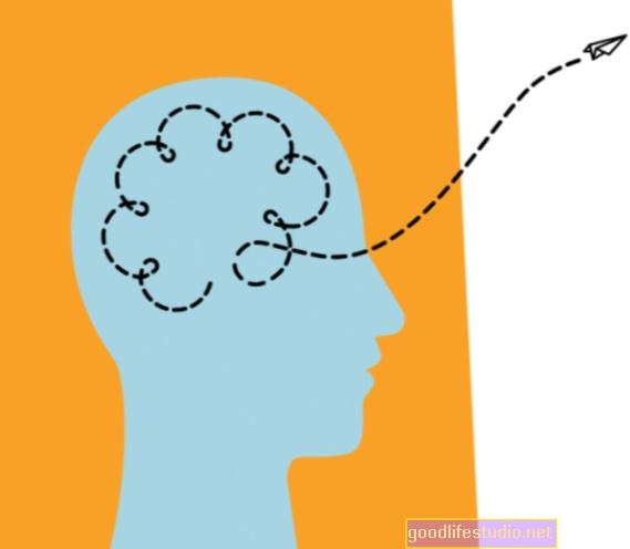 脳のワーキングメモリにリンクされているさまよう心