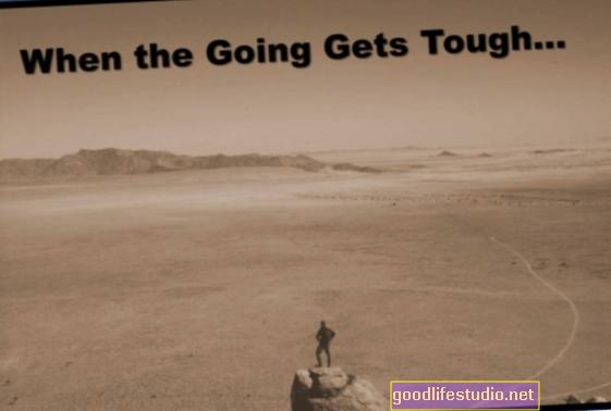 Cuando las cosas se ponen difíciles, puede ser rentable estar ansioso