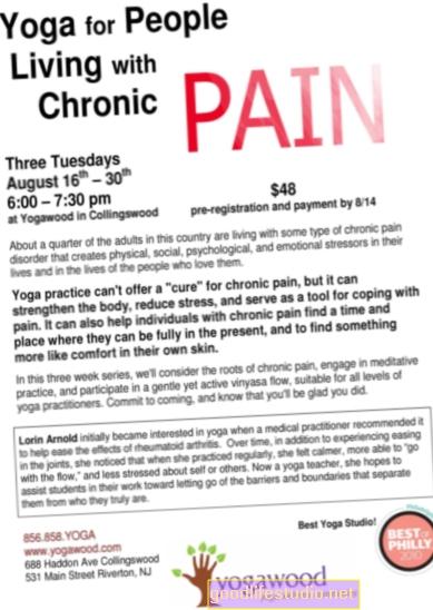 Joga, lėtinis skausmas turi priešingą poveikį pilkajai medžiagai