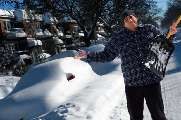 Consejos para palear nieve: cómo evitar el dolor de espalda