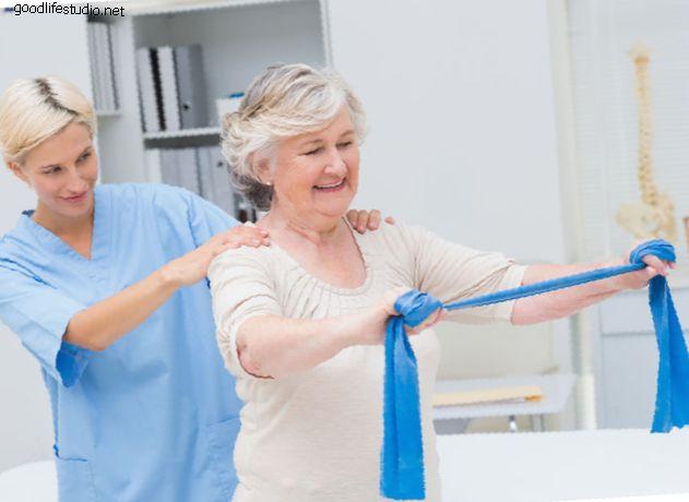Fyzikální terapie k úlevě od bolesti krku