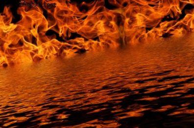 Что означает огонь на воде во сне?