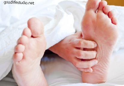 Spodní pověra pro svědění levé nohy