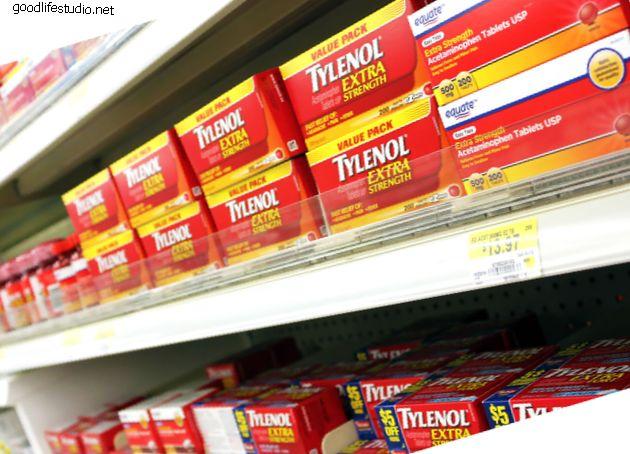 Ацетаминофен: защита первой линии при болях в спине и шее