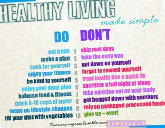 10 consejos para una vida sana