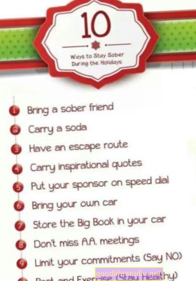 10 consejos para mantenerse sobrio durante tiempos difíciles