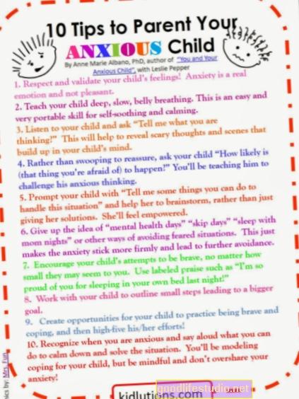 Diez consejos para apoyar a los niños a través de una enfermedad mental de su cónyuge