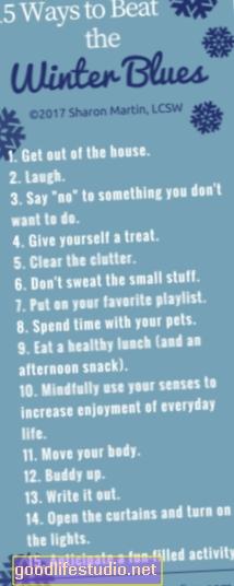 10 Busters della depressione invernale per il disturbo affettivo stagionale