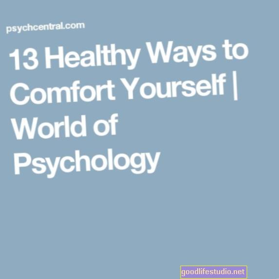 13 sveikų būdų, kaip paguosti save