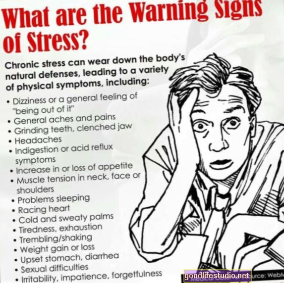 5不安の警告は子供が経験するかもしれないことを示します