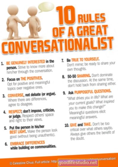 好きな人とのより良い会話のための5つのヒント