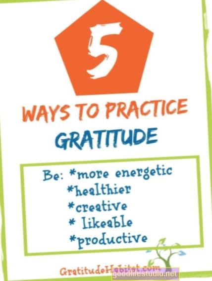 5 formas de practicar la gratitud